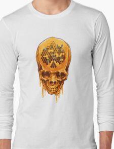 Yellow Skull Long Sleeve T-Shirt