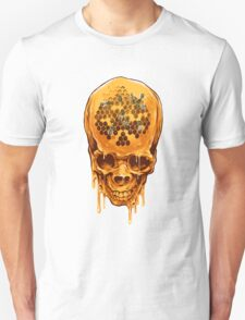 Yellow Skull Unisex T-Shirt
