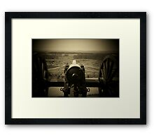 VALLEY OF DEATH - THE SLAUGHTER PEN Framed Print