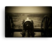 VALLEY OF DEATH - THE SLAUGHTER PEN Canvas Print