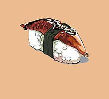 Unagi sushi by katzegraphics