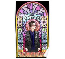 This is Gospel Stain Glass  Poster