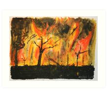 Hell on Earth by Keiran Lusk Art Print