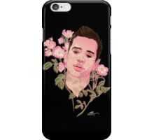 Floral Brendon Urie  iPhone Case/Skin