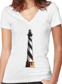 Cape Hatteras Women's Fitted V-Neck T-Shirt