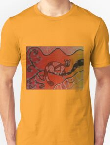 Orange Aboriginal Possum Unisex T-Shirt