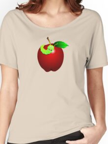 Apple Red Women's Relaxed Fit T-Shirt