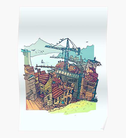 Vigo , under construction Poster