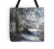 Snow Scene 1 Tote Bag