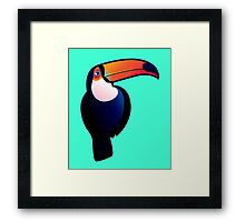 Toucan-can Framed Print