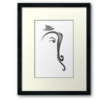 Ganesh Framed Print