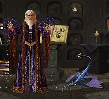 The Wizard by LoneAngel