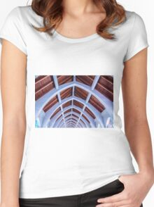Blue Arches Women's Fitted Scoop T-Shirt