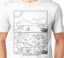 How scientists see the world [light] Unisex T-Shirt
