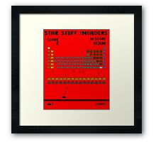 Star Stuff Invaders Framed Print