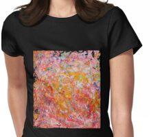 Sunset Joy Womens Fitted T-Shirt