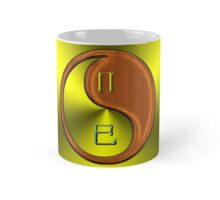 Gemini & Snake Yin Wood Mug