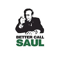 Better Call Saul - Breaking Bad Photographic Print