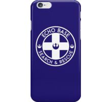 Echo Base - Search and Rescue iPhone Case/Skin