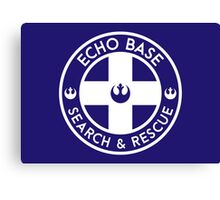 Echo Base - Search and Rescue Canvas Print