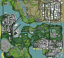 GTA Map by Bomboorst