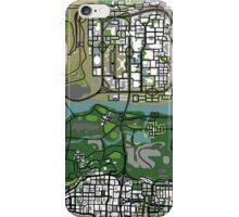 GTA Map iPhone Case/Skin