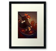 Reaper Girl Framed Print
