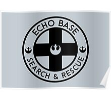 Echo Base - Search and Rescue Poster