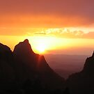 Sunset Through Window of Big Bend by cgrauke