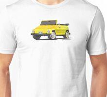 VW 181 Thing Kuebelwagen Trekker Yellow Unisex T-Shirt