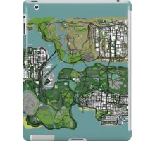GTA Map iPad Case/Skin