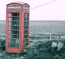 Old Country Phone box by GaryK Photography
