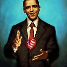 The Sacred Heart of Obama by Megan Glosser