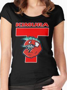 Hajime No Ippo - Kimura Women's Fitted Scoop T-Shirt