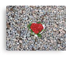 Flower Heart Of The Ocean Canvas Print
