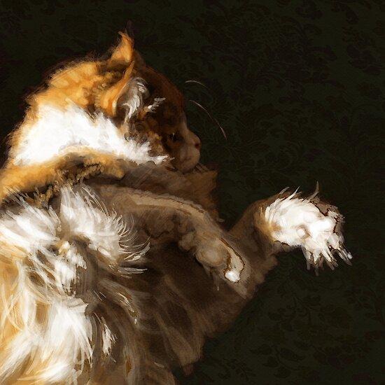 Portrait of Dinky by Megan Glosser