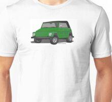 VW 181 Thing Kuebelwagen Trekker Acapulco Green Top On Unisex T-Shirt