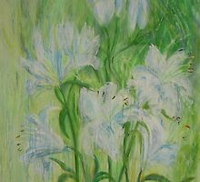 Lily Stems by Susan Duffey