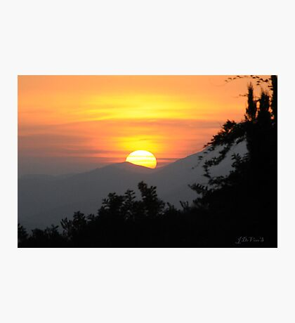 A Ramona Sunset Photographic Print
