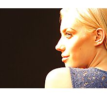 Blonde, Bold & Blue - Into The Light Photographic Print