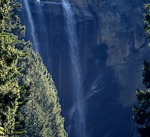 Vernal falls in late summer by photoclimber