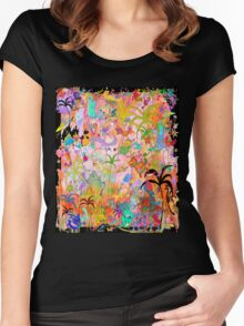 Caribbean Fantasy Women's Fitted Scoop T-Shirt