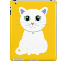 Only One White Kitty iPad Case/Skin