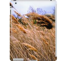 Blowing prairie Grass iPad Case/Skin