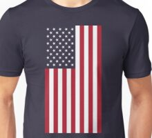 US Flag - Navy Unisex T-Shirt
