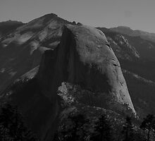Half Dome without color by photoclimber