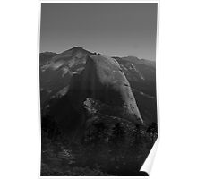 Half Dome without color Poster