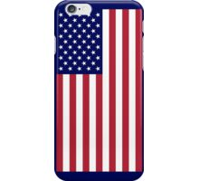 US Flag - Navy iPhone Case/Skin