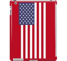 US Flag - Red iPad Case/Skin