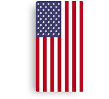 US Flag - Red Canvas Print